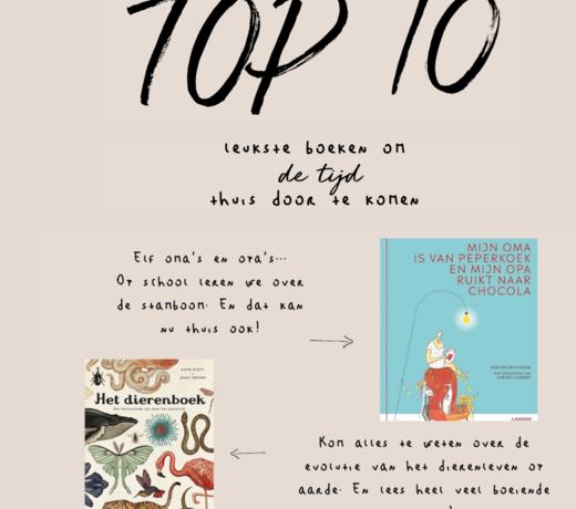 De top 10 leukste boeken!