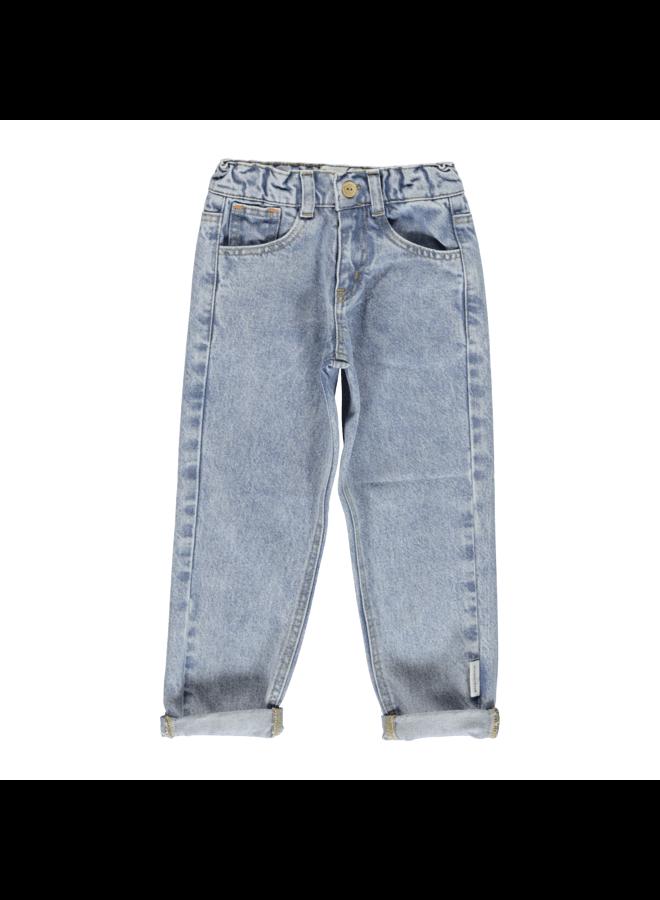 Piupiuchick jeans momfit lightblue