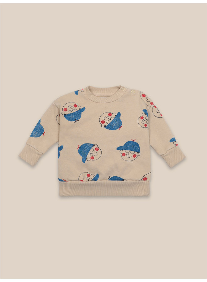 Bobo Choses sweater all over boy Wonder for kids