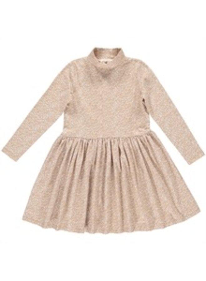 Gro company cecile dress leave