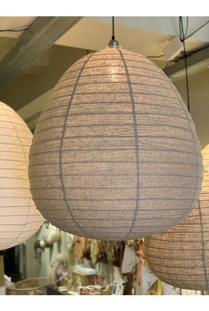 Wonder lampion linnen taupe 70cm