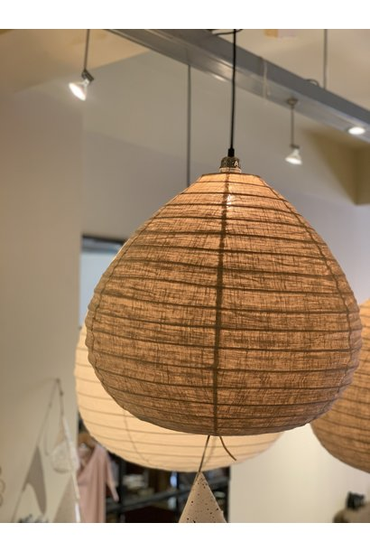 Wonder lampion linnen taupe 50cm