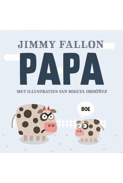 Jimmy Fallon- eerste woordjes boek PAPA