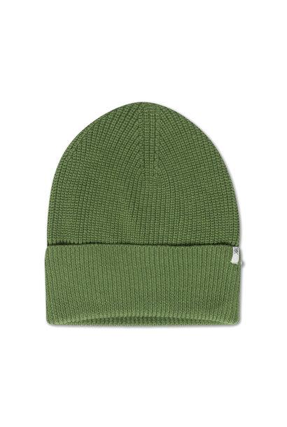 Repose Ams knit muts hunter green