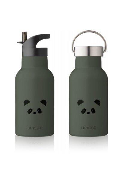 Liewood drinkfles panda hunter green