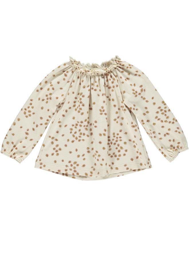 MarMar blouse leaves