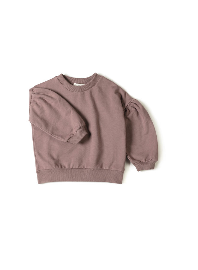 Nixnut sweater lux mauve