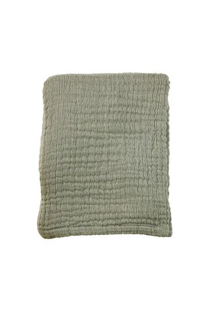 Mies & Co zomer ledikant deken thyme green