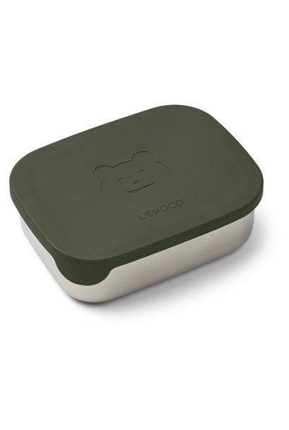 Liewood lunchbox Arthur Bear green