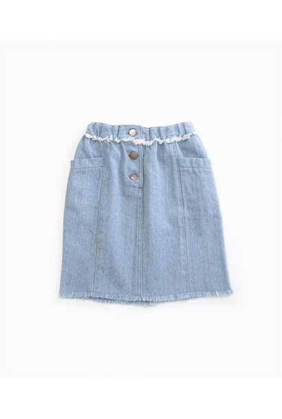 Play Up denim skirt