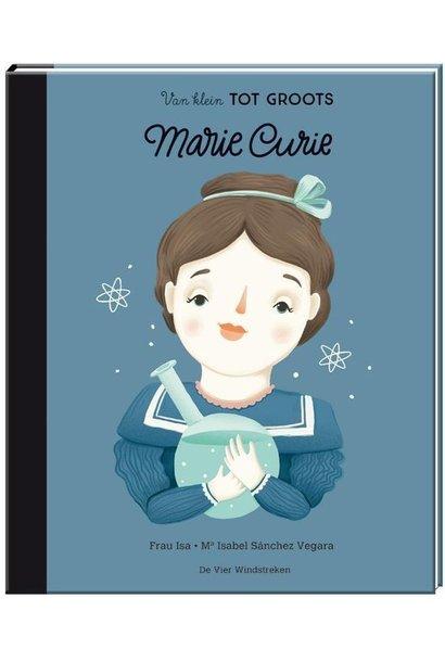 Boek - van klein tot groots: Marie Curie