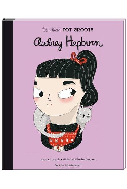 Boek - van klein tot groots: Audrey Hepburn