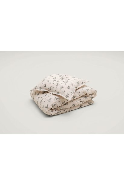 Garbo & Friends adult bedding bluebell muslin 140 x 200