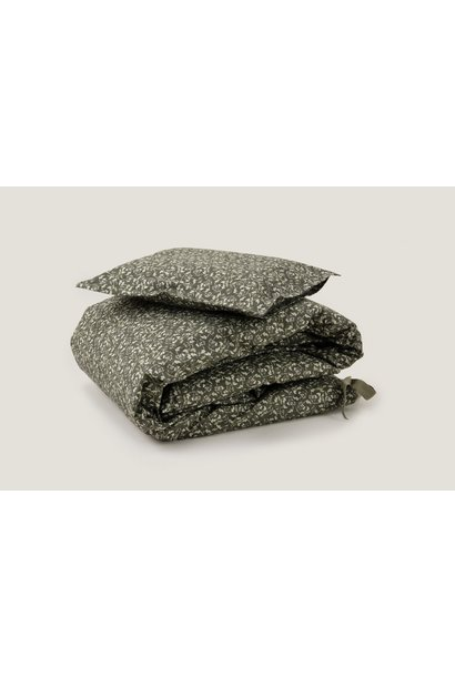 Garbo & Friends adult bedding  floral moss 140 x 200