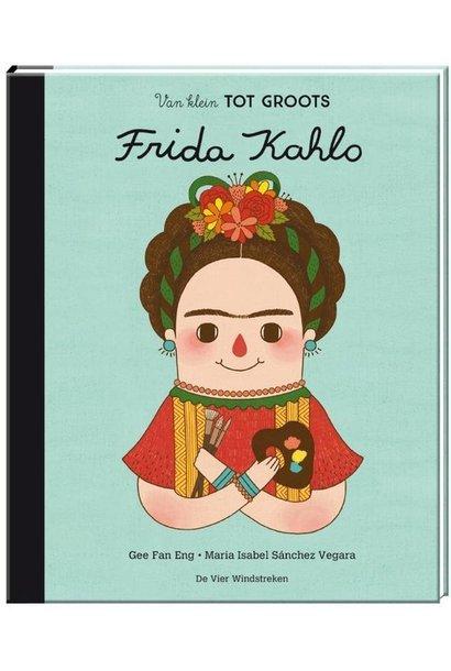 Boek - van klein tot groots: Frida Kahlo