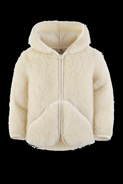 Alwero jas mody wol naturel