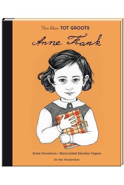 Boek - van klein tot groots: Anne Frank
