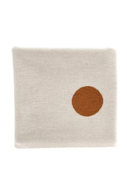 hvid blanket edie off white-rust