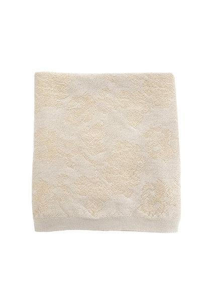 hvid blanket edith off white- oat