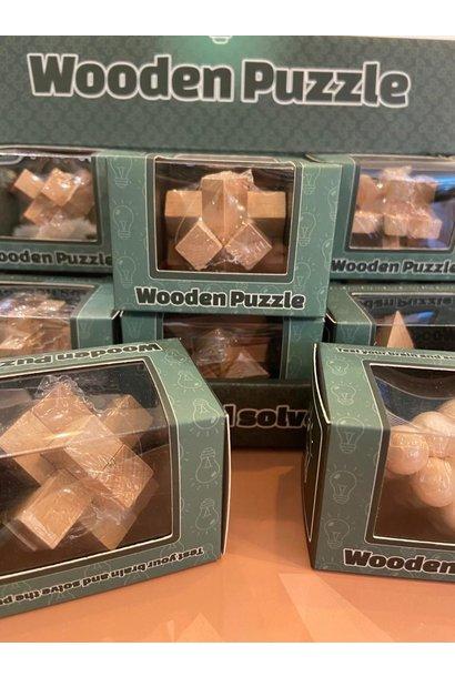 Wonder hersenkraker houten puzzle 3D