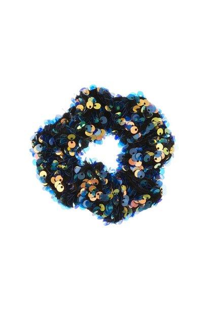 Mimi & Lula disco scrunchie blue