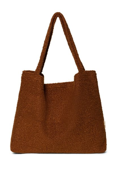 Studio Noos cacao boucle mom bag