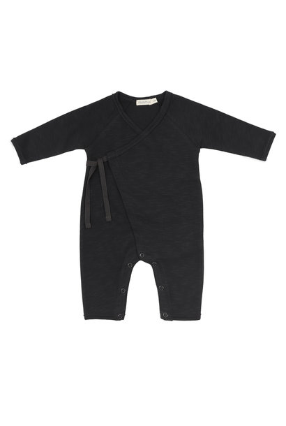 Phil & Phae cross over suit charcoal