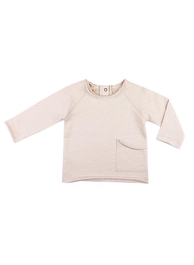 Phil & Phae raw edged sweater