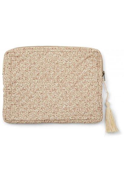 Konges Slojd tablet quilted bag blossom mist