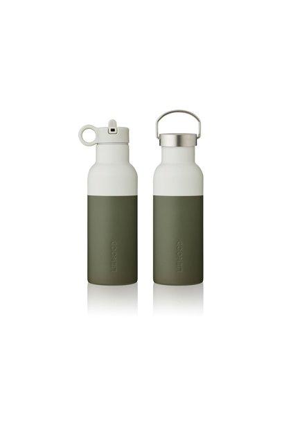 Liewood drinkfles hunter green/dove blue mix