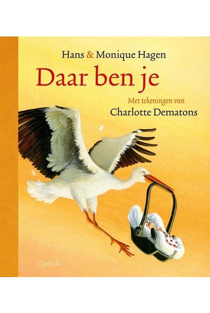 Boek - Daar ben je - Charlotte Dematons