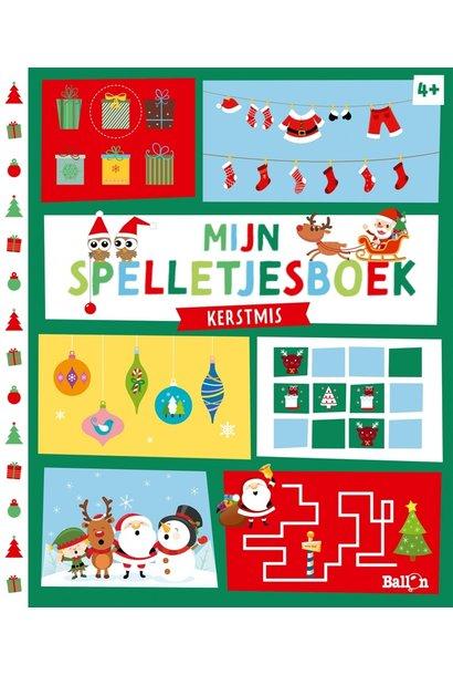 Mijn spelletjesboek kerstmis