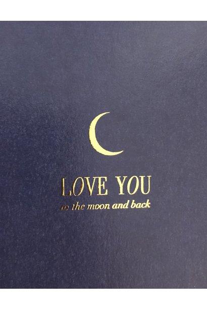 Mus & Bloem kaart love you