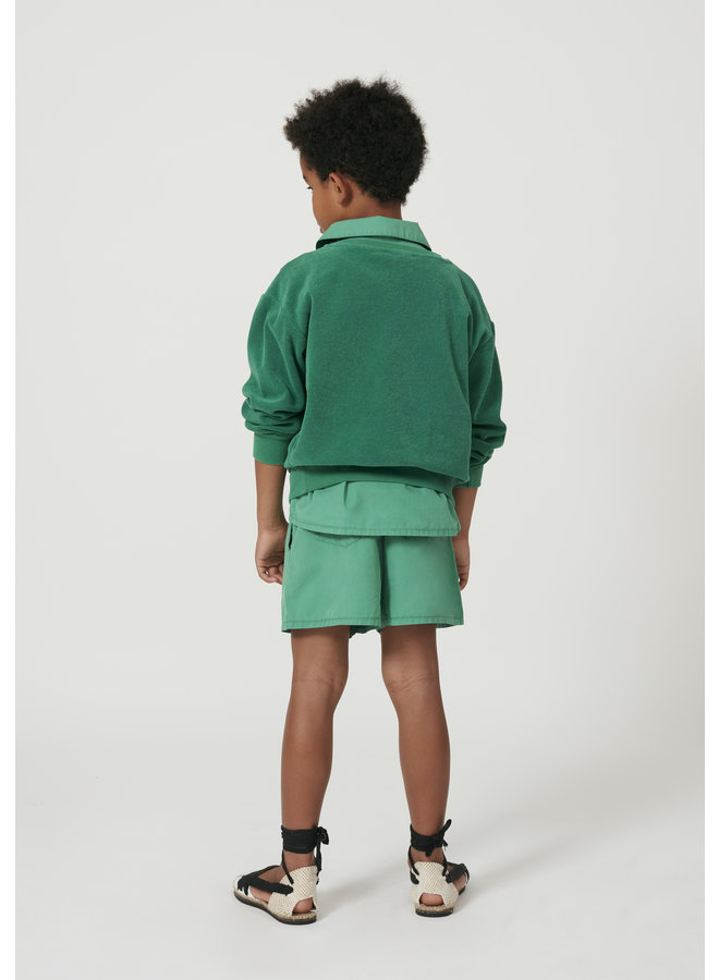 Weekend house kids gentleman short green