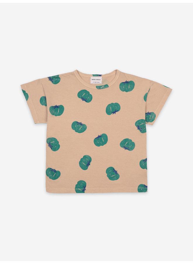Bobo choses kids tomatoes all over t-shirt brush