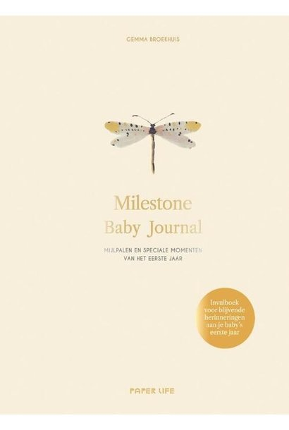 Boek milestone baby journal