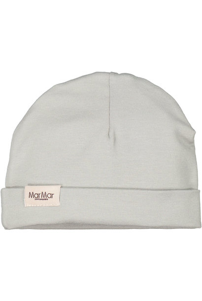 MarMar aiko modal smooth solid hat chalk