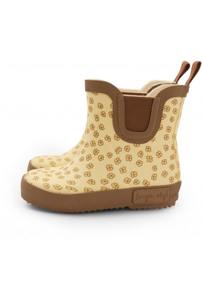 Konges Slojd welly rubber boots buttercup yellow