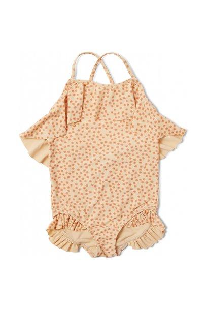 Konges Slojd manuca swimsuit buttercup orange