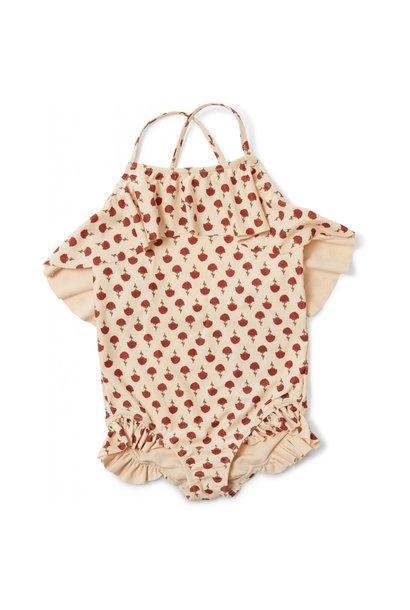 Konges Slojd manuca swimsuit poppyflower red