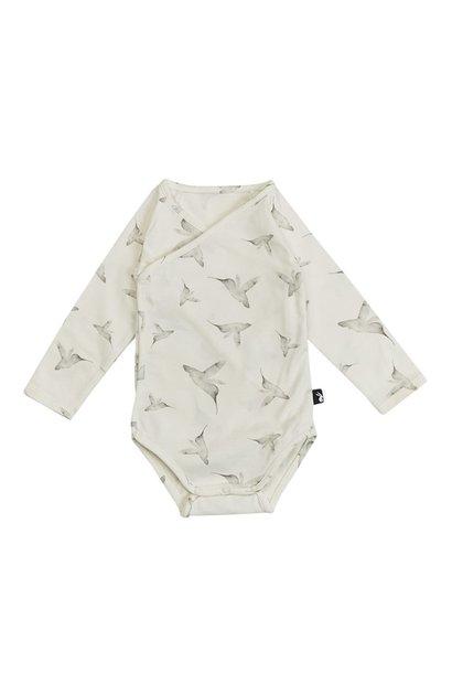 Mies & Co wrap bodysuit longsleeve little dreams