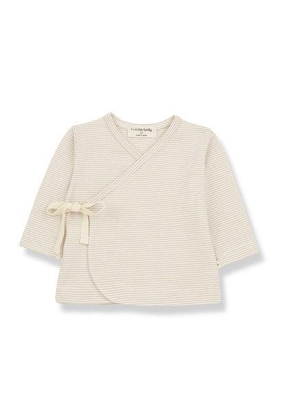 1+ in the family overslag shirt sol beige