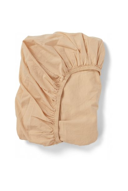 Konges Slojd baby stroller sheet apricot