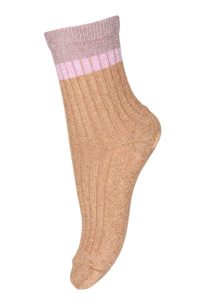 MP Denmark norma glitter socks apple cinnamom