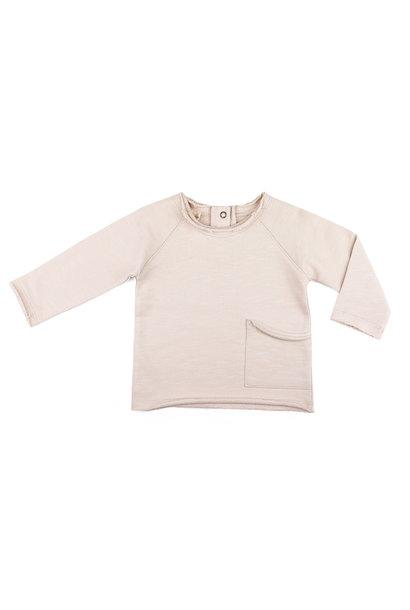 Phil & Phae raw-edged baby sweater