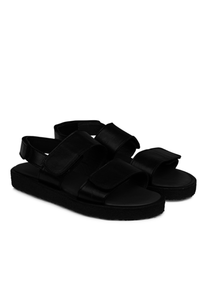 Angulus sandal velcro black