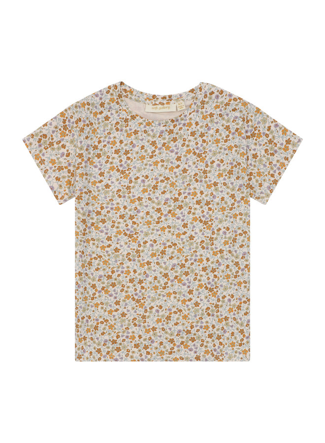 Soft Gallery pilou t-shirt dew aop floral
