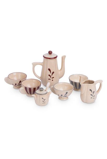 Konges Slojd tea set ceramic