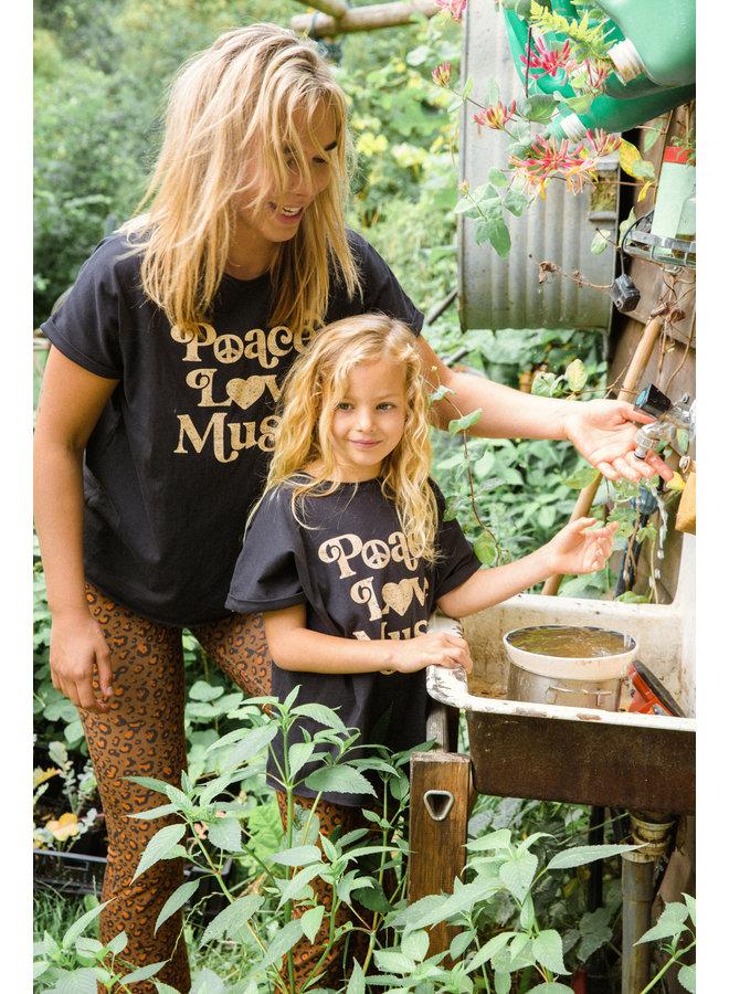Ammehoela sunny t-shirt antracite