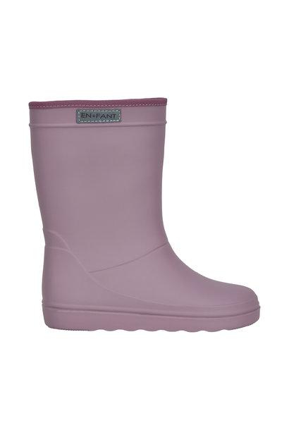 Enfant rubber rain boots toadstool